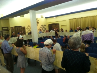 Simchat Torah at Congregation B'nai Emunah